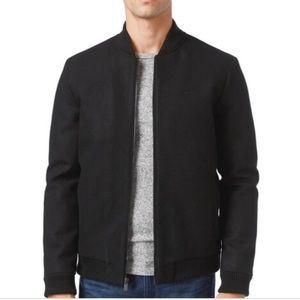 Calvin Klein zip up bomber style sweater jacket!
